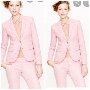 J.crew size 14 pink school boy blazer
